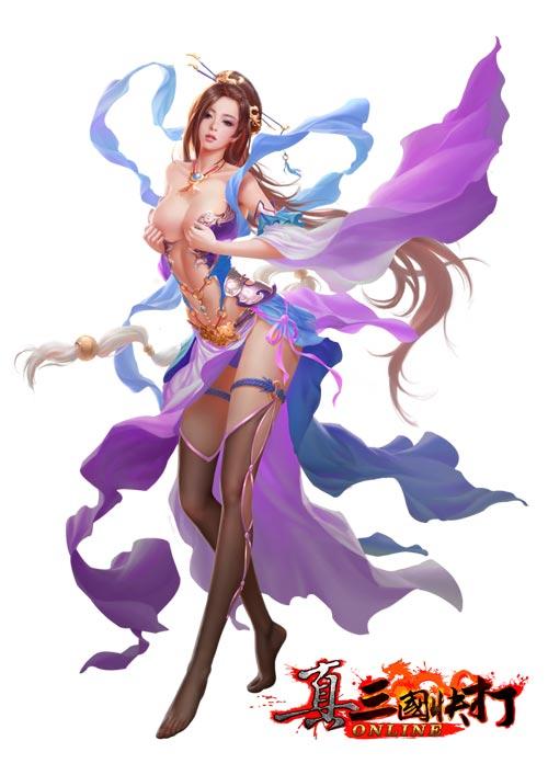 貂蝉:我国古代四大美女之一,司徒王允家的歌女,连环计实施的核心